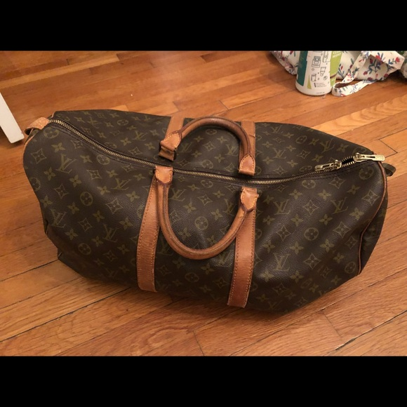 hot-selling professional dependable performance durable in use 1980's Vintage Louis Vuitton Duffle Bag